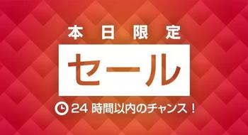 Expedia本日限定セール