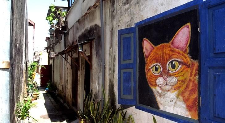 ペナン、ジョージタウンのストリートアート